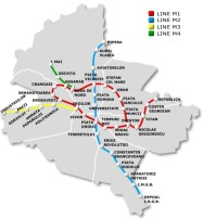 Bucharest Subway Stations Map
